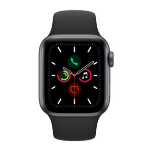 Apple Watch Series 5 GPS Black Aluminium