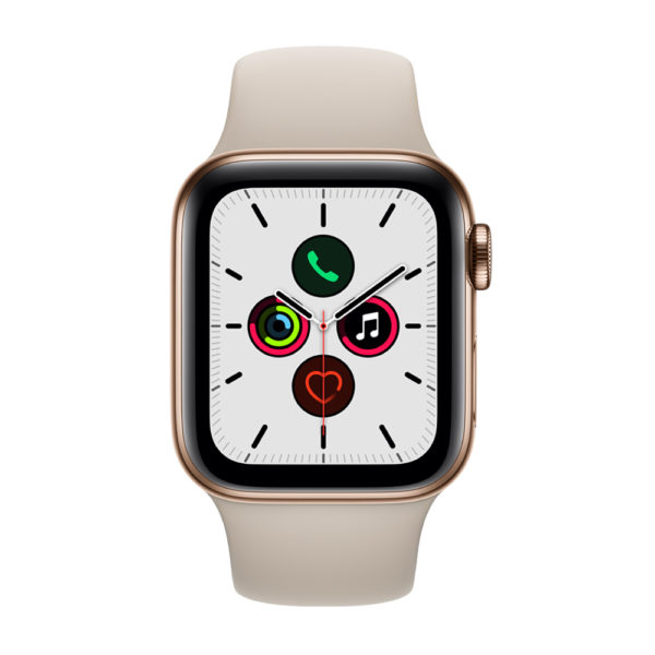 Apple Watch Series 5 GPS Plus Cellular Gold Stainless Steel