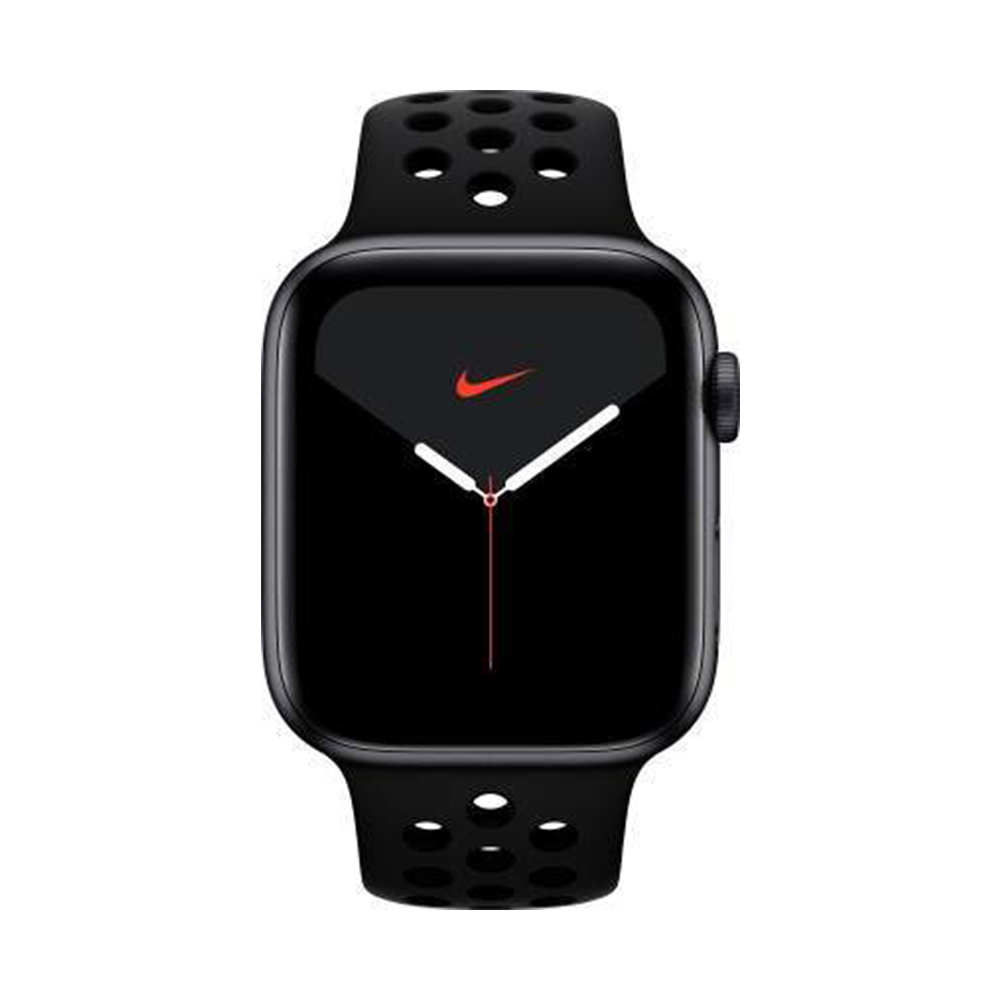 limpiar Supone Vaticinador  Buy Apple Watch Nike Series 5 GPS + Cellular, 44mm Black Aluminium Case  with Anthracite/Black Nike Sport Band | BuyShuy
